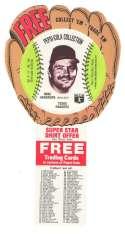 1977 Pepsi Glove Discs - TEXAS RANGERS