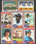 1981 TOPPS - BOSTON RED SOX Team Set