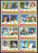 1981 TOPPS - League Leaders Subset (8 cards)