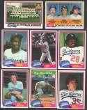 1981 TOPPS - LOS ANGELES DODGERS Team Set