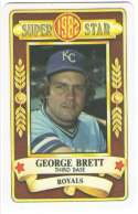 1982 Perma-Graphic Superstar - KANSAS CITY ROYALS