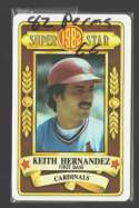1982 Perma-Graphic Superstar - ST LOUIS CARDINALS