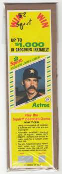 1982 Squirt Panel (Pic in Middle w/ Scratchoff) - HOUSTON ASTROS