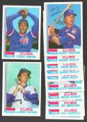 1982 Topps Traded - CHICAGO CUBS Team Set