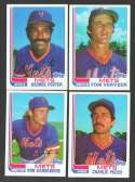 1982 Topps Traded - NEW YORK METS Team Set