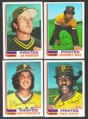 1982 Topps Traded - PITTSBURGH PIRATES Team Set