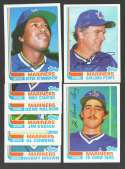 1982 Topps Traded - SEATTLE MARINERS Team Set