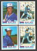 1982 Topps Traded - TORONTO BLUE JAYS Team Set