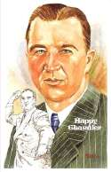 1983 Perez-Steele Hall of Fame Postcards Series 7 - Happy Chandler Commissioner