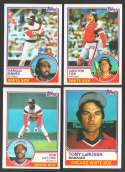 1983 TOPPS - CHICAGO WHITE SOX Team Set
