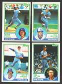 1983 TOPPS - MILWAUKEE BREWERS Team Set