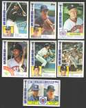 1984 Topps - DETROIT TIGERS Team Set