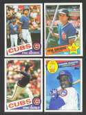 1985 TOPPS - CHICAGO CUBS Team Set