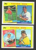 1985 TOPPS - Father and Son Subset