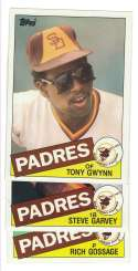 1985 Topps Super (5x7) - SAN DIEGO PADRES Team Set