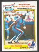 1986 Drake's Big Hitters Super Pitchers - MONTREAL EXPOS