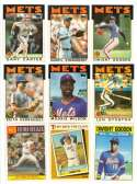 1986 Topps TIFFANY - NEW YORK METS Team Set