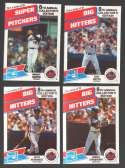 1988 Drake's Big Hitters Super Pitchers - NEW YORK METS Team Set