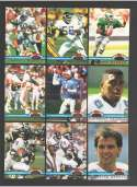 1991 Topps Stadium Club Charter Members - FOOTBALL Subset Set