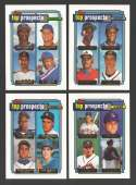 1992 Topps Gold - Top Prospects (9 card subset)