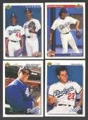 1992 UPPER DECK - LOS ANGELES DODGERS Team Set