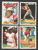 1994 Topps Traded - CINCINNATI REDS Team Set