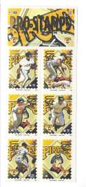 1996 Pro Stamps Strips - PITTSBURGH PIRATES Team Set