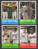 2012 Topps Heritage - Multi player Combo Cards (4 card lot)