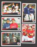 2009 Topps Update - Combo cards 5 card lot