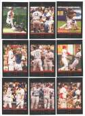 2007 Topps Update - Classic Combos Multi-Team Players (9 cards subset)