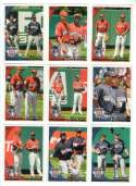 2010 Topps Update - Combo cards lot 9 cards