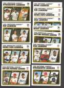 2005 Topps Update - League Leaders Subset