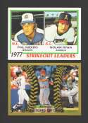 2011 Topps 60 Years of Topps - Nolan Ryan Leaders & All Topps Piazza & Rodriguez