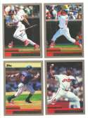 2000 Topps - CLEVELAND INDIANS Team Set