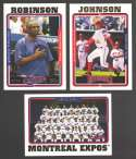 2005 TOPPS - WASHINGTON NATIONALS / MONTREAL EXPOS Team Set