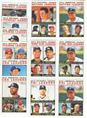2013 Topps Heritage - League Leaders 12 card subset