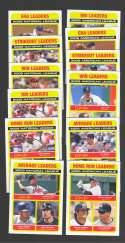2009 O-Pee-Chee (OPC) - League Leaders 12 card Subset