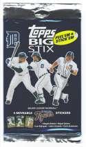 2008 Topps Big Stix - DETROIT TIGERS Team set or Pack