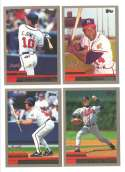 2000 Topps - ATLANTA BRAVES Team Set