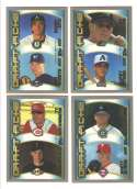 2000 Topps LIMITED (Tiffany) - Draft Picks 14 card subset lot w/ Hamilton & Zito
