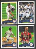 2011 Topps Update - NEW YORK YANKEES Team Set