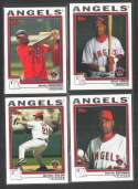 2004 Topps Traded - ANAHEIM ANGELS Team Set