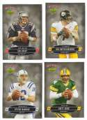2006 Tuff Stuff Magazine Upper Deck Inserts - Football Players 24 card set