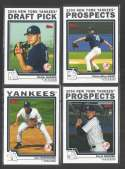 2004 Topps Traded - NEW YORK YANKEES Team Set
