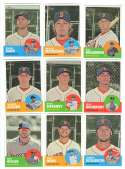 2012 Topps Heritage High (Hi) Numbers - BOSTON RED SOX Team Set