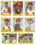 2015 Topps Heritage (1-500) - ST LOUIS CARDINALS Team Set