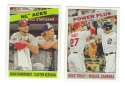 2015 Topps Heritage - Combos 2 card lot