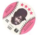 1976 Blank Back Disc - ATLANTA BRAVES