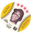 1976 Blank Back Disc - CLEVELAND INDIANS