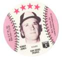 1976 Blank Back Disc - SAN DIEGO PADRES Team Set
